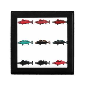 Fish Keepsake Boxes