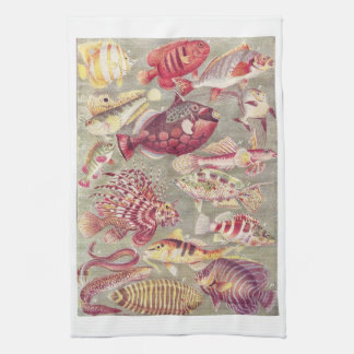 Fish Kitchen Towel