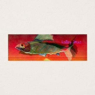 Fish LeRoy Jacks Mini Business Card
