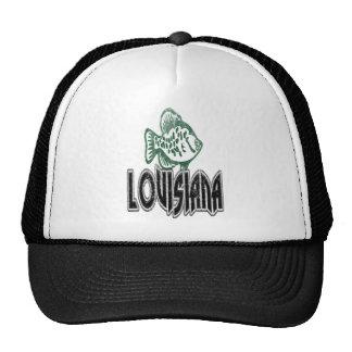 FISH LOUISIANA VINTAGE LOGO TRUCKER HAT