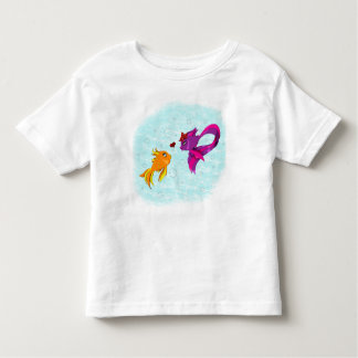 Fish love toddler t-shirt