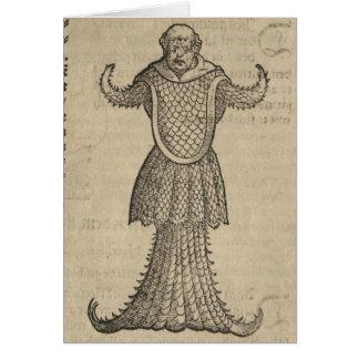 Fish Man Card