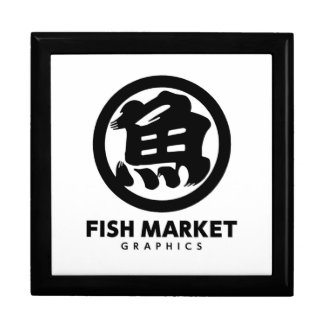 FISH MARKET GRAPHICS LOGO GIFT BOXES