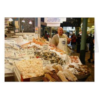 Fish Market Seattle WA Card