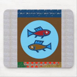 FISH MERMAID FISHING FISHERMAN unique return gifts Mouse Pad