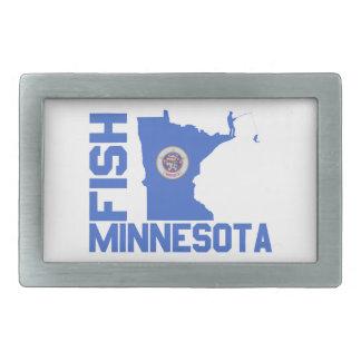 Fish Minnesota Belt Buckle