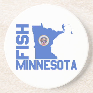 Fish Minnesota Coaster