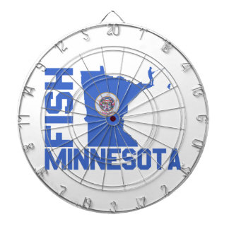 Fish Minnesota Dartboard