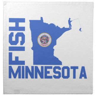 Fish Minnesota Napkin