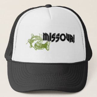 FISH MISSOURI VINTAGE LOGO TRUCKER HAT