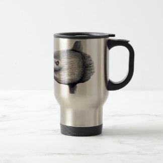 Fish moon travel mug