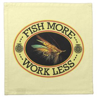 FISH MORE Salmon Fly Fishing Napkin