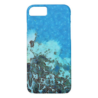 Fish moving over the reef iPhone 8/7 case