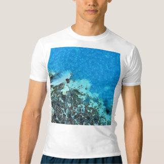 Fish moving over the reef t-shirt