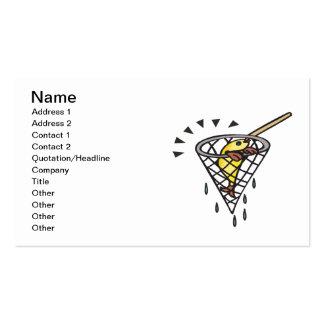 Fish Net Business Card
