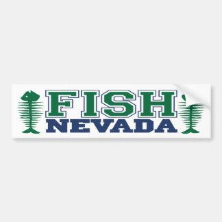 Fish Nevada Bumper Sticker