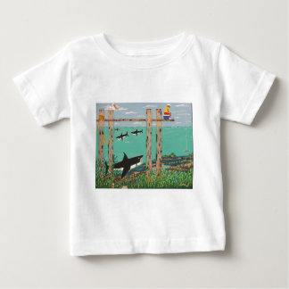 Fish Not Biting Today. Baby T-Shirt