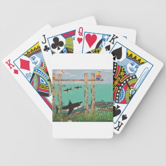 Fish Not Biting Today. Bicycle Playing Cards
