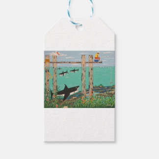 Fish Not Biting Today. Pack Of Gift Tags
