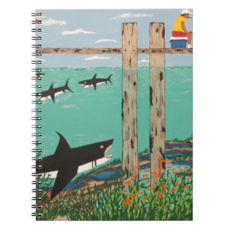 Fish Not Biting Today. Spiral Notebook