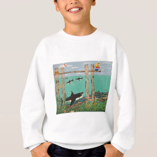 Fish Not Biting Today. Sweatshirt