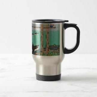 Fish Not Biting Today. Travel Mug