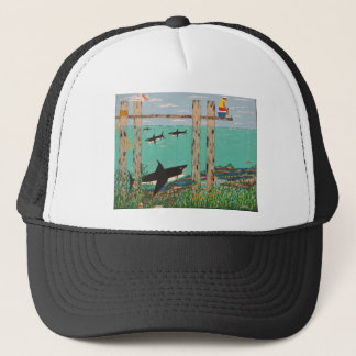 Fish Not Biting Today. Trucker Hat