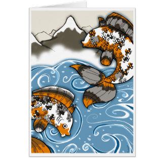 Fish Notecard