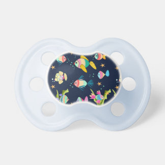 fish of colors pacifier