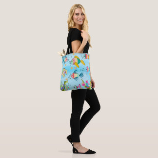 fish of colors tote bag