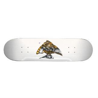 "Fish of opus number 20151028000c ""machine"" skateboard"