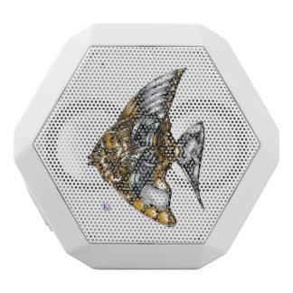 "Fish of opus number 20151028000c ""machine"" white bluetooth speaker"