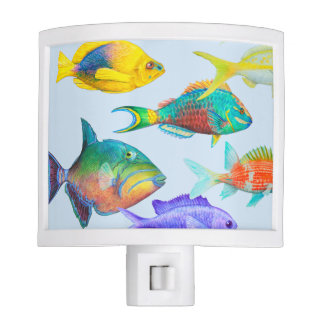 Fish of the Atlantic Nite Light