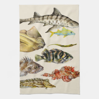 Fish of the Pacific Kitchen Towel