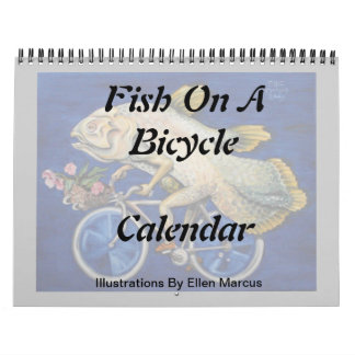 Fish On a Bicycle Calendar