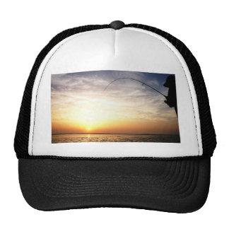 Fish on at Sunrise! Trucker Hat
