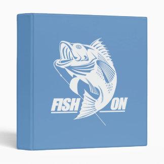 Fish On (Bass) Vinyl Binder