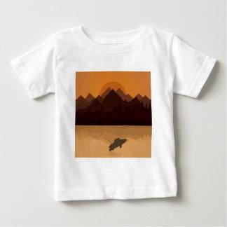 Fish on lake baby T-Shirt