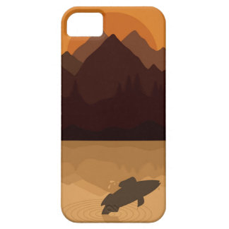 Fish on lake case for the iPhone 5