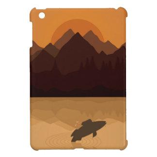 Fish on lake iPad mini cases