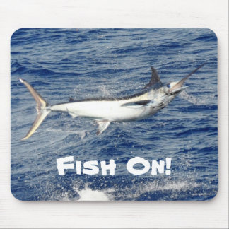 Fish On! Mouse Pad