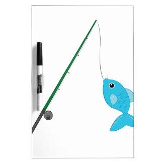 Fish On Pole Dry-Erase Whiteboards