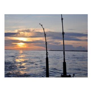 Fish On! Postcard