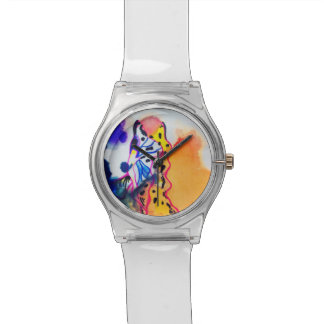 Fish On Water Wrist Watches