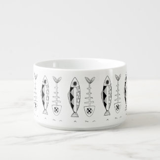 Fish pattern(black) Chili Bowl