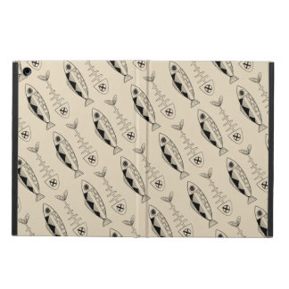 Fish pattern(black), various colours iPad Air Case