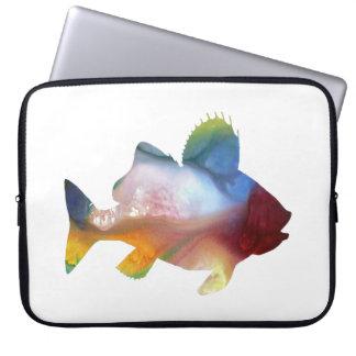 Fish (Perch) Art Laptop Sleeve