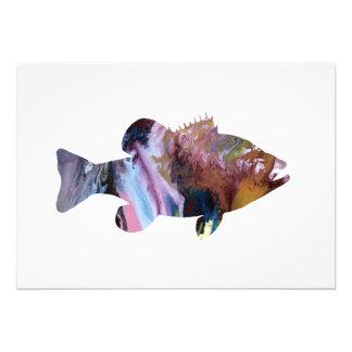 Fish (Perch) Art Photo Print
