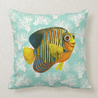 Fish pillow sea fun