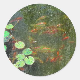 Fish Pond Sticker